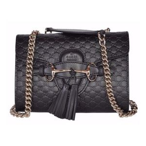 Gucci Emily GG Guccissima Crossbody Shoulder Bag